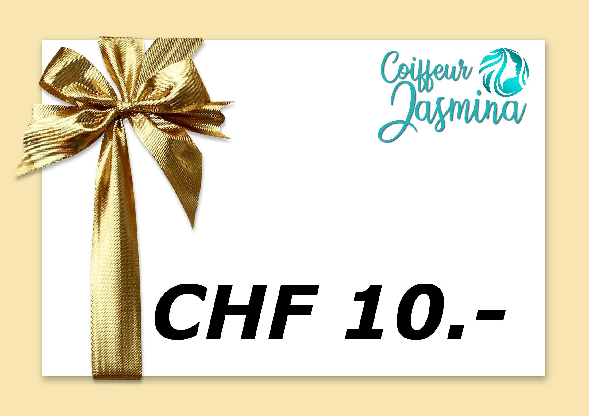 Gutschein CHF 10