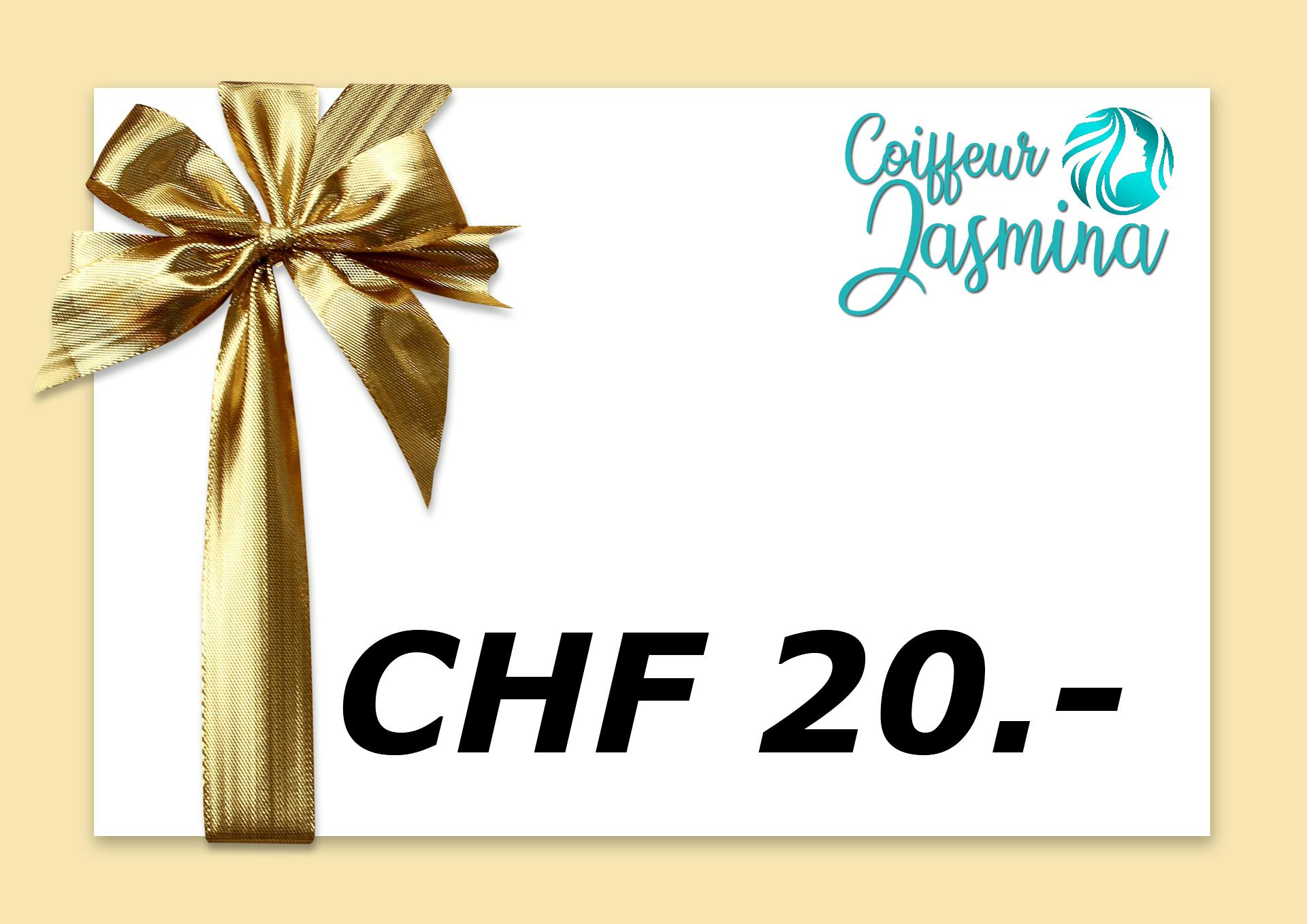 Gutschein CHF 20